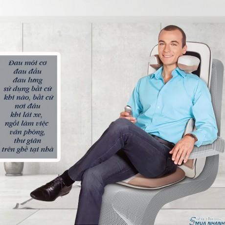 Đệm massage 3D hồng ngoại Lanaform Excellence LA110311