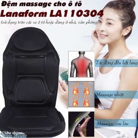 Đệm massage cho ô tô Lanaform LA110304