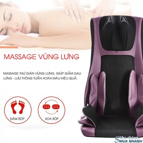 Đệm massage toàn thân cao cấp 5D Shika SK-6078