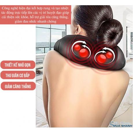 Máy massage vai lưng cổ Shiatsu FUKI FK-N89