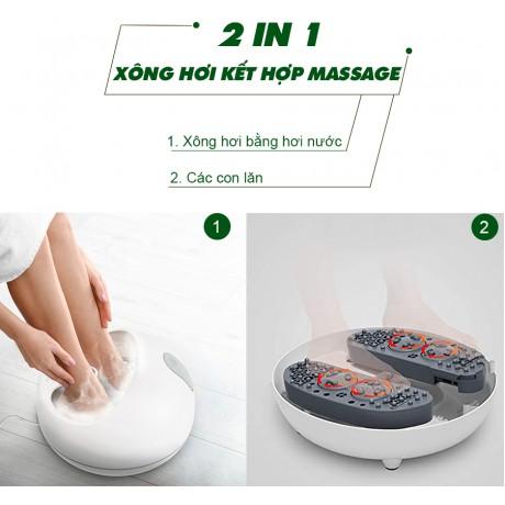 Bồn xông hơi massage chân công nghệ siêu âm Rio FTBH9-EU