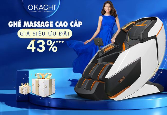 Nhiều quà tặng và giảm giá hấp dẫn khi mua sản phẩm ghế massage chính hãng
