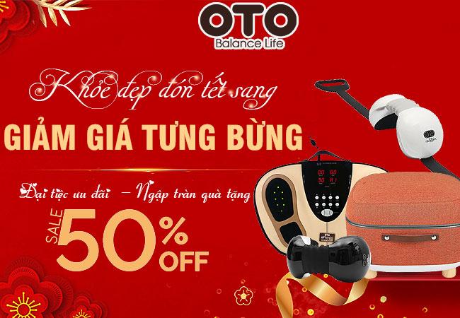 Khuyến mãi giảm giá kèm quà tặng nếu mua các sản phẩm của thương hiệu OTO