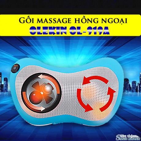 Gối massage hồng ngoại Olekin OL-919A