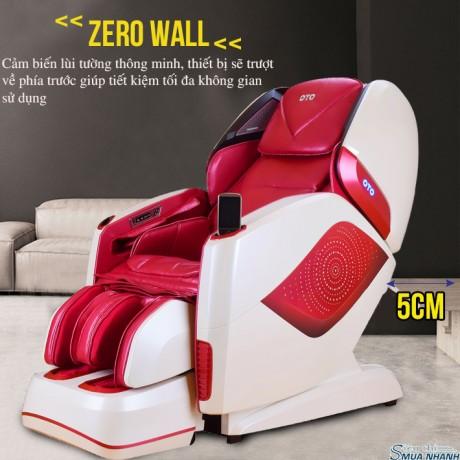 Ghế massage toàn thân OTO Prestige Swarovski PE-09 (Red - đính hạt pha lê)