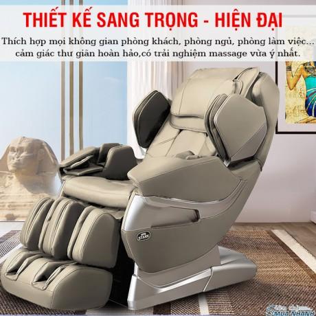 Ghế massage toàn thân OTO STACK SK-01 (Cream)