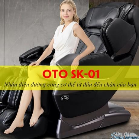 Ghế massage toàn thân OTO STACK SK-01(Black)