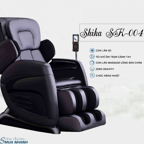 Ghế massage toàn thân 3D Shika SK-004