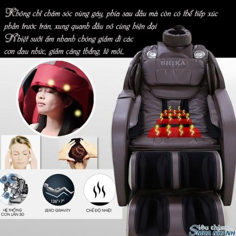 Ghế massage toàn thân Nhật Bản 3D Shika SK-8930