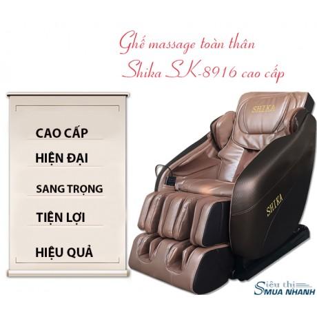 Ghế massge toàn thân Nhật Bản Shika SK-8916