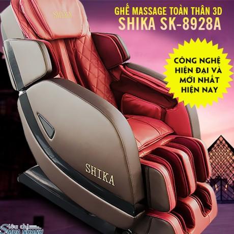Ghế massage toàn thân 3D Shika SK-8928A