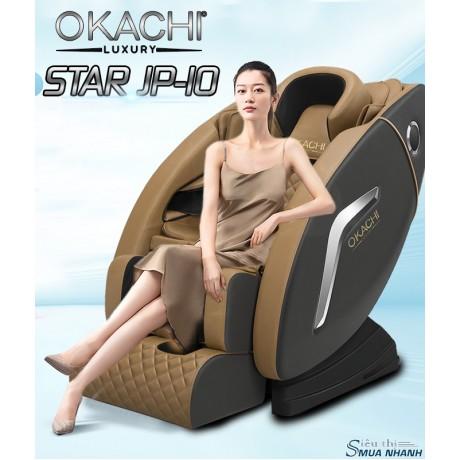 Ghế massage toàn thân OKACHI LUXURY Star JP-I10