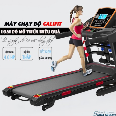 Máy chạy bộ đa năng Califit CF-2018S (thế hệ mới)