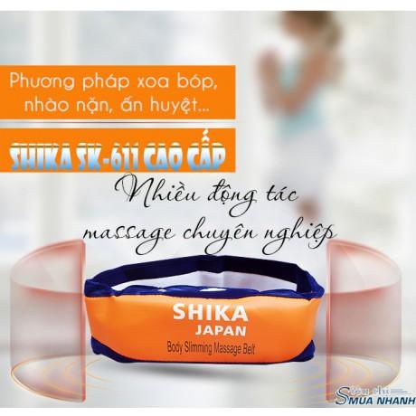 Máy massage bụng Shika SK-611 cao cấp