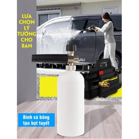Bình xà bông tạo bọt tuyết máy xịt rửa xe dung tích 1L - PKF10
