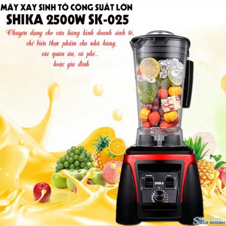 Máy xay sinh tố công suất lớn SHIKA 2500W SK-025