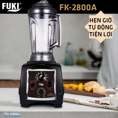 Máy xay sinh tố công nghiệp Fuki 2800W - Hẹn giờ (FK-2800A)