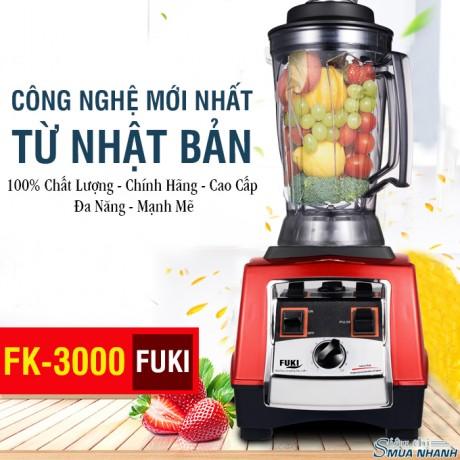 Máy xay sinh tố xay đậu nành công nghiệp Fuki 3000W (FK-3000)