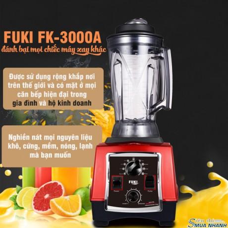 Máy xay sinh tố công nghiệp Fuki 3000W - Hẹn giờ (FK-3000A)