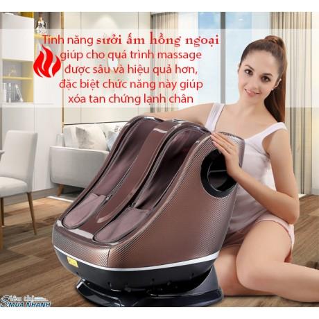 Máy massage chân hồng ngoại 3D Fuki Pro FK-2020
