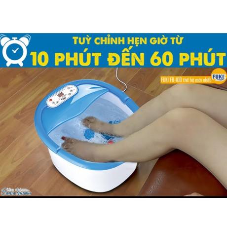 Bồn ngâm chân Nhật Bản FUKI FB100 (thế hệ mới con lăn xoay tự động)
