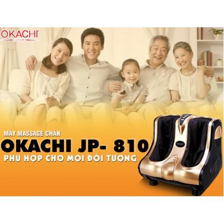 Máy massage chân hồng ngoại 3D OKACHI JP- 810 (màu Gold)