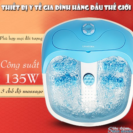 Bồn massage chân Lanaform Bubble Footcare LA110412