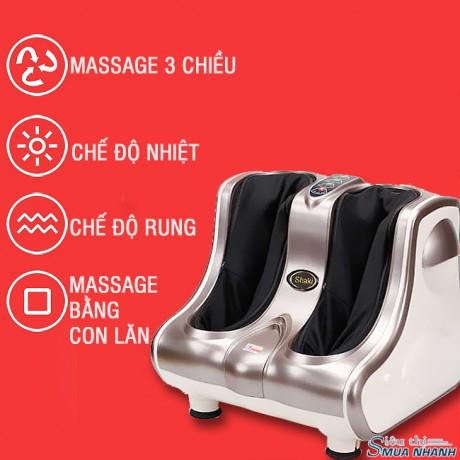 Máy Massage Chân cổ cao Shika SK-8911 Màu Bạc
