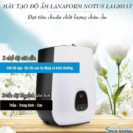 Máy tạo độ ẩm Lanaform Notus LA120117