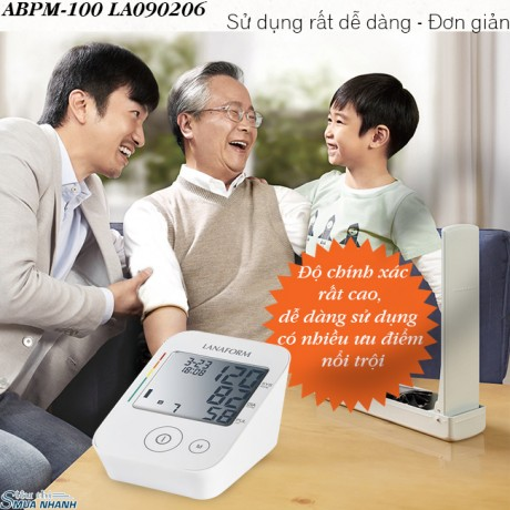 Máy đo huyết áp bắp tay Lanaform ABPM-100 LA090206