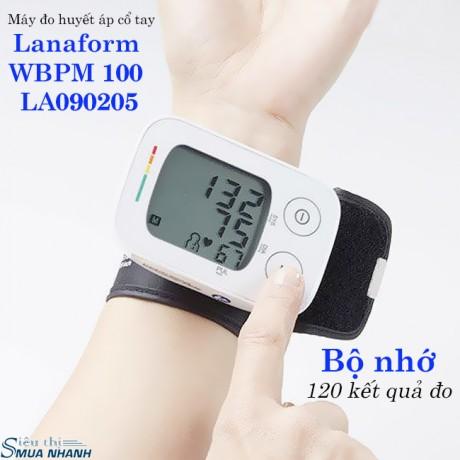 Máy đo huyết áp cổ tay Lanaform WBPM 100 LA090205