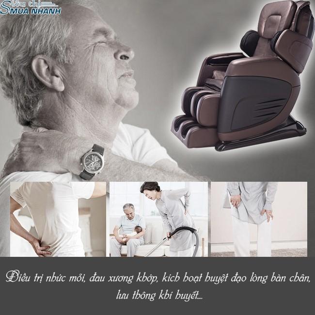 ghế massage có tác dụng lên toàn thân