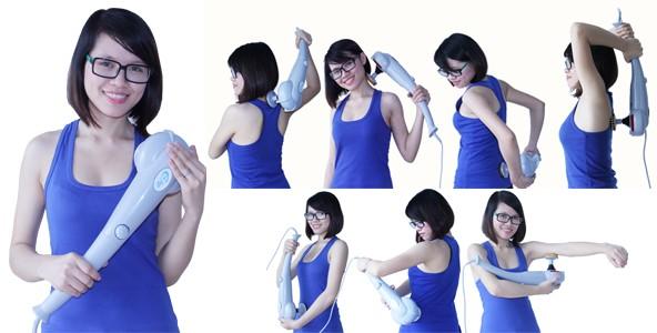 Máy massage cầm tay có tác dụng massage toàn thân