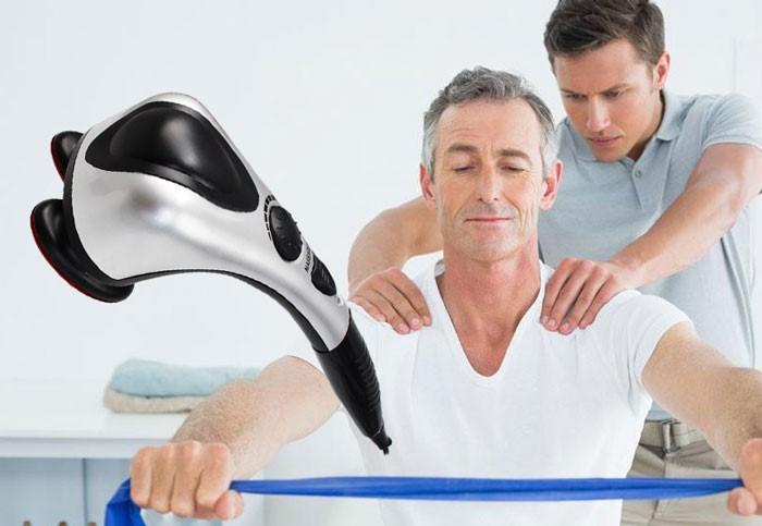 Máy massage giúp tuần hoàn máu tốt hơn