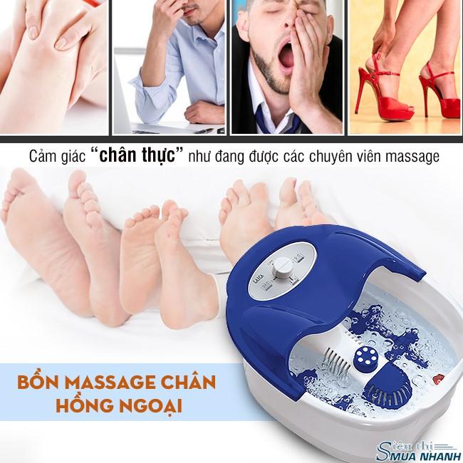 máy matxa chân khử mùi