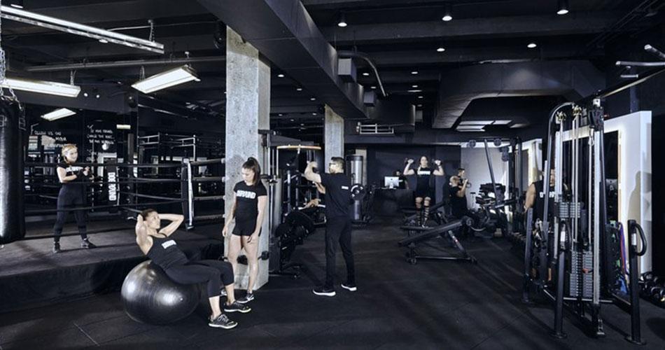 Hệ thống phòng Gym tiêu chuẩn quốc tế...
